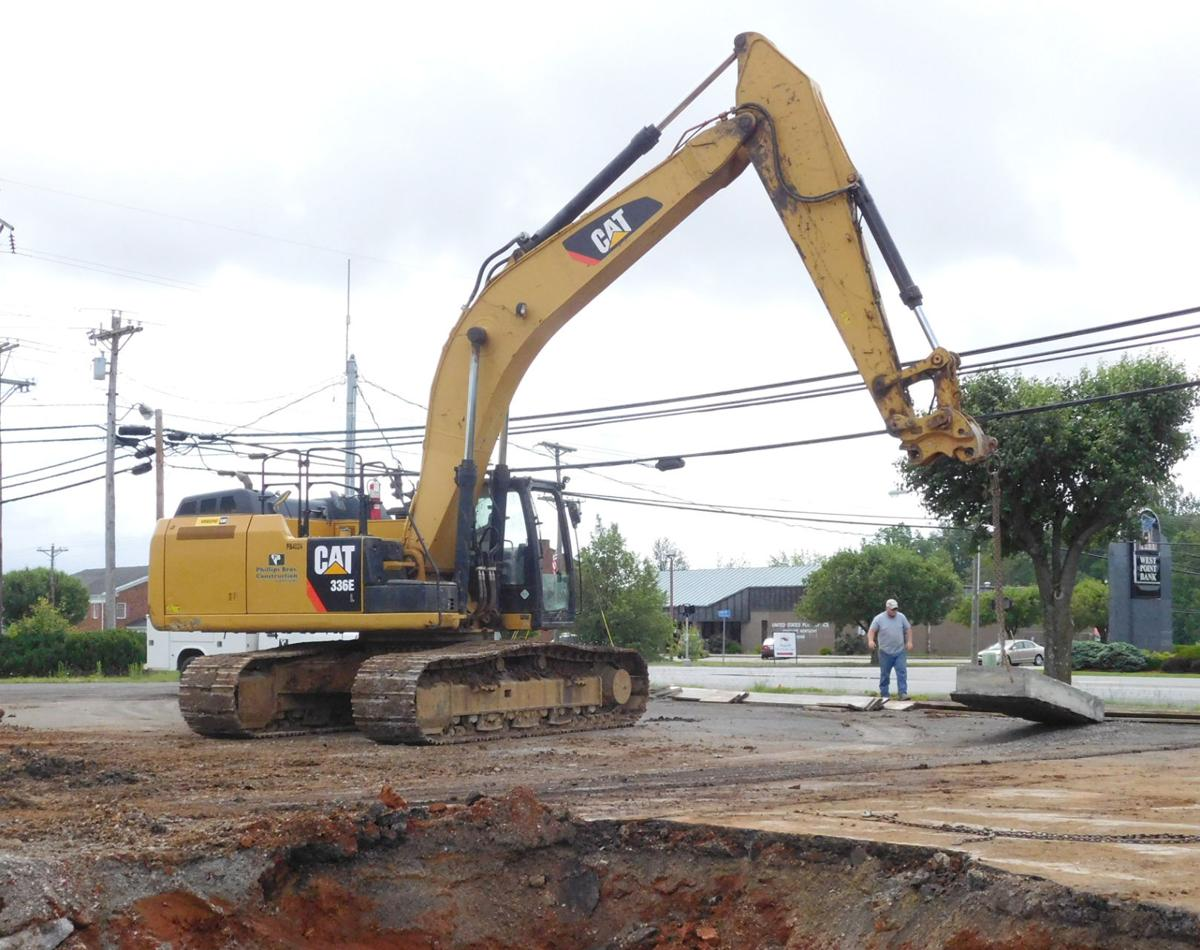 Under construction in Radcliff