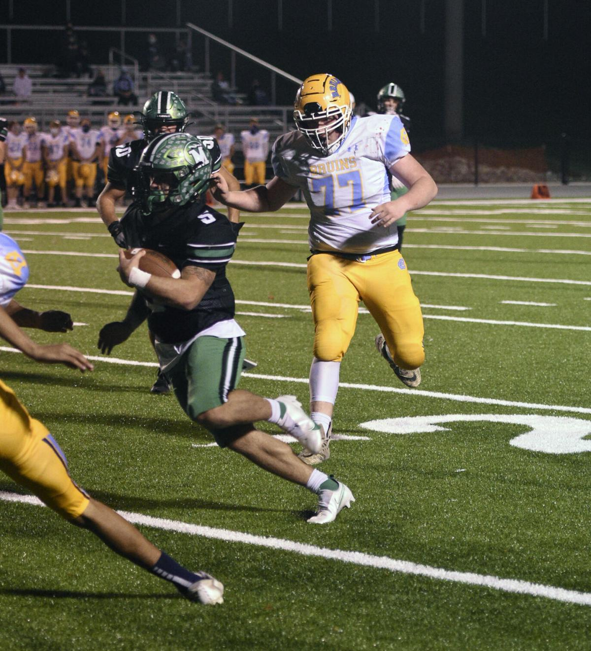 PREP FOOTBALL: Meade beats Central in playoff opener