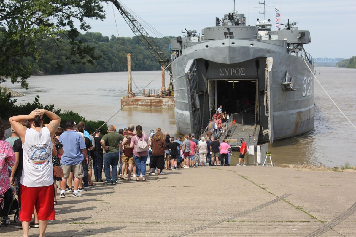 Historic ship makes stop in Brandenburg