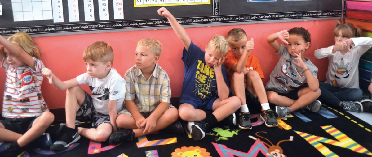 Lakewood Elementary students develop social emotional skills