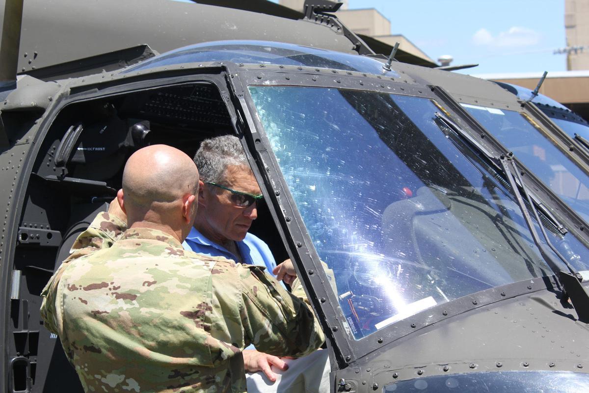 Black Hawk drill at HMH