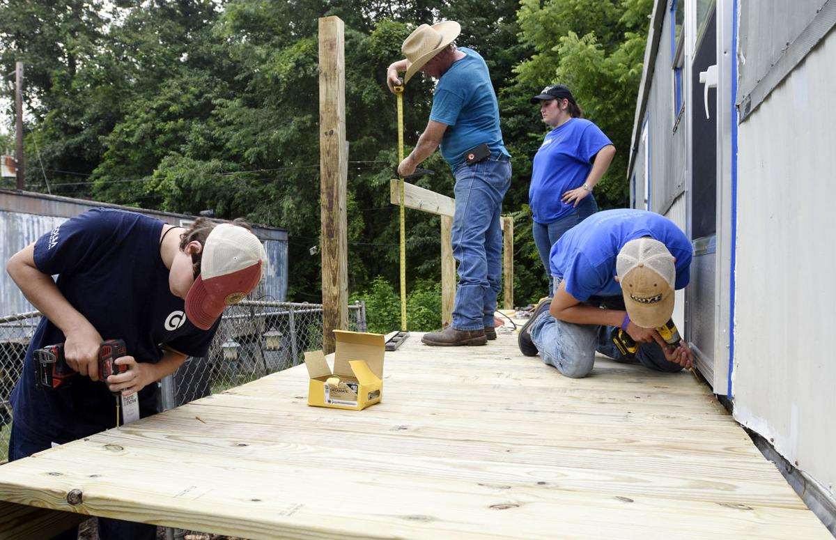 World Changers at work in Radcliff area | Local News ... on rainbow church, rainbow college, old trailer park, rainbow car wash,