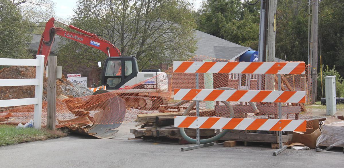 Diecks Drive nearing completion