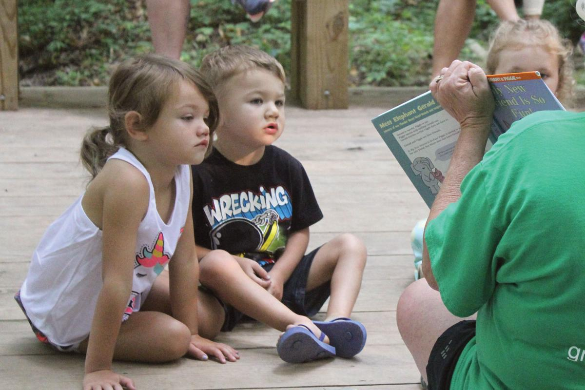 Tales on Trails combines nature, books