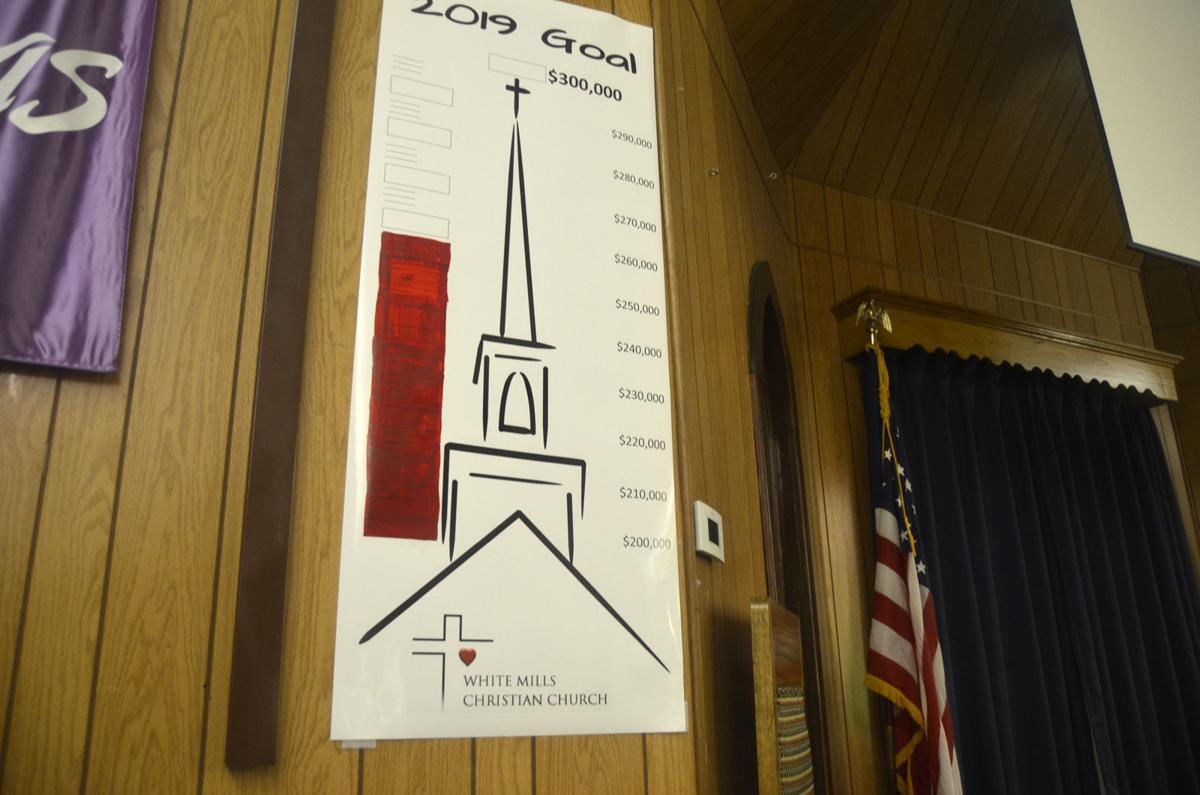 Chicken dinner raises money for new church
