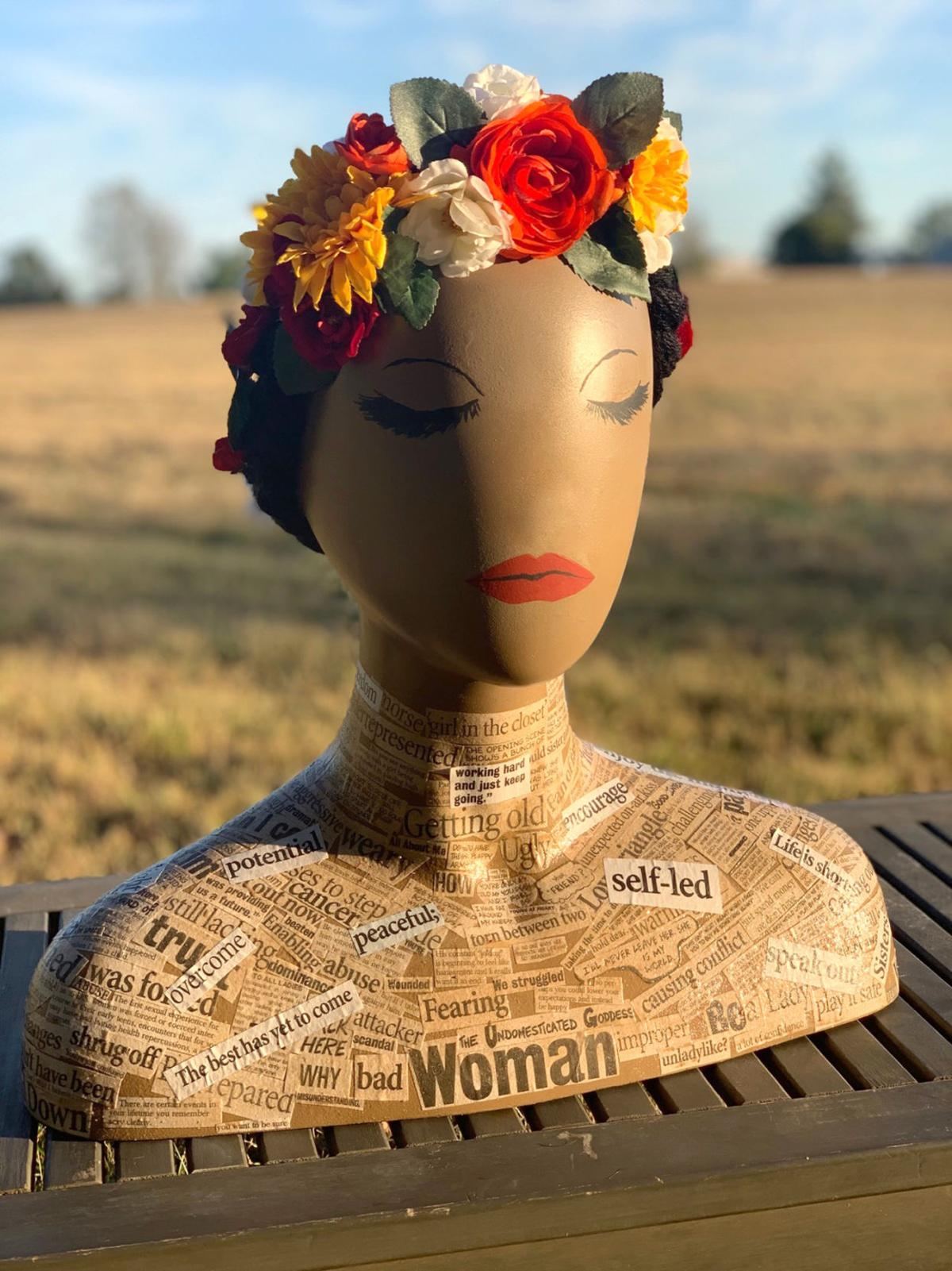 Wig Stand Palooza accepts bids for unique art