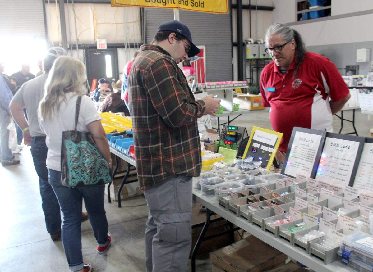 Amateur radio enthusiasts gather for annual event
