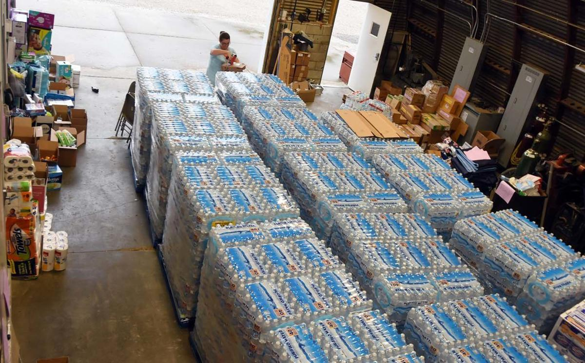 Truckloads of donations depart for Texas this week