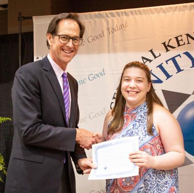 Presta receives Lisa Hays Charness Memorial Scholarship