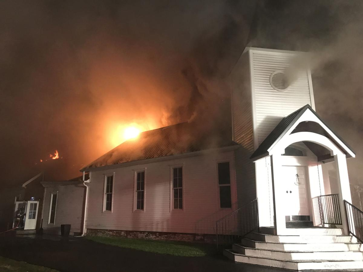 Sadness felt in community as historic church damaged by fire