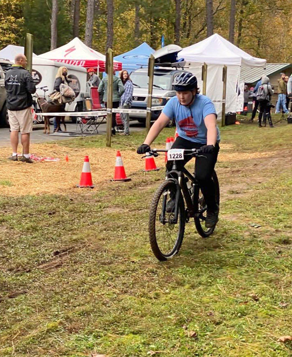 Youth mountain biking rolls into area