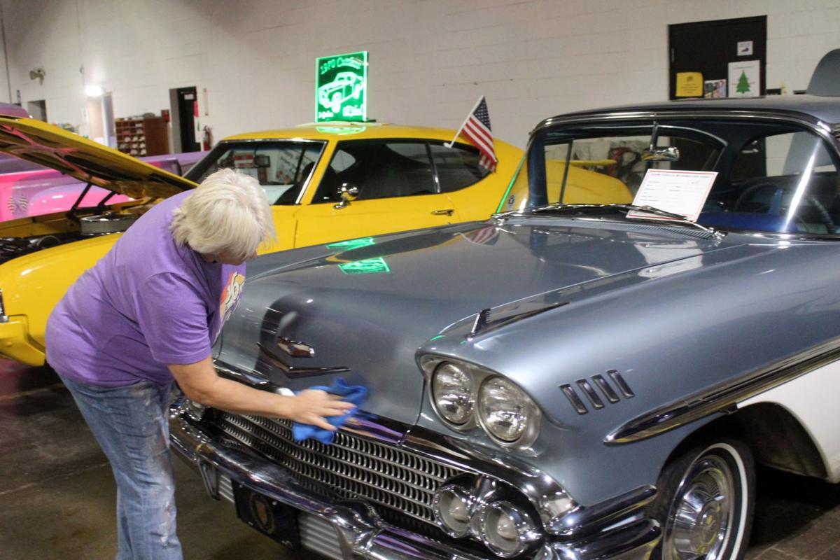 Annual car show gives back to community