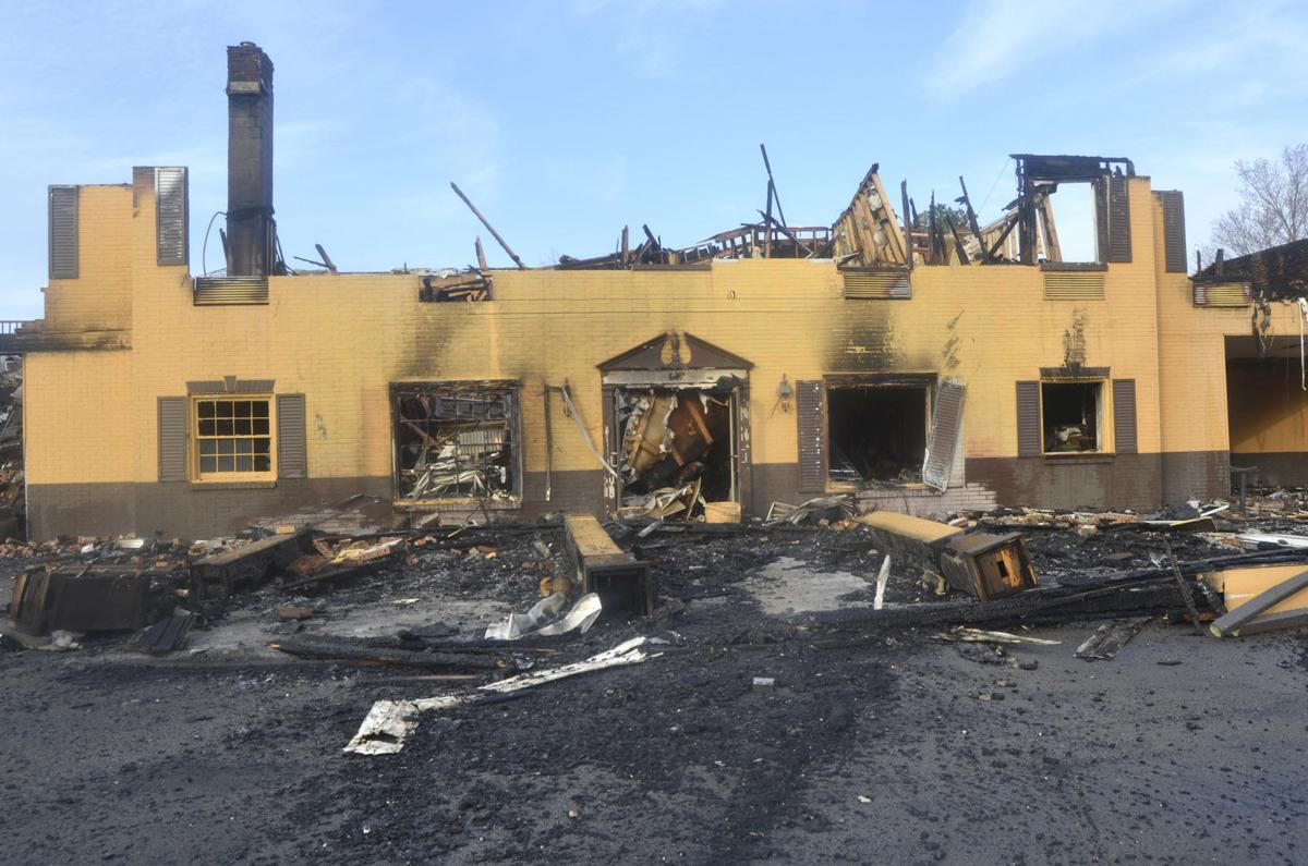 Official: Cause of motel fire 'undetermined'