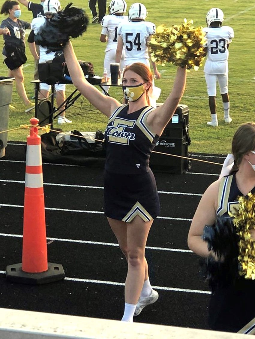 The cheer goes on for Elizabethtown teen