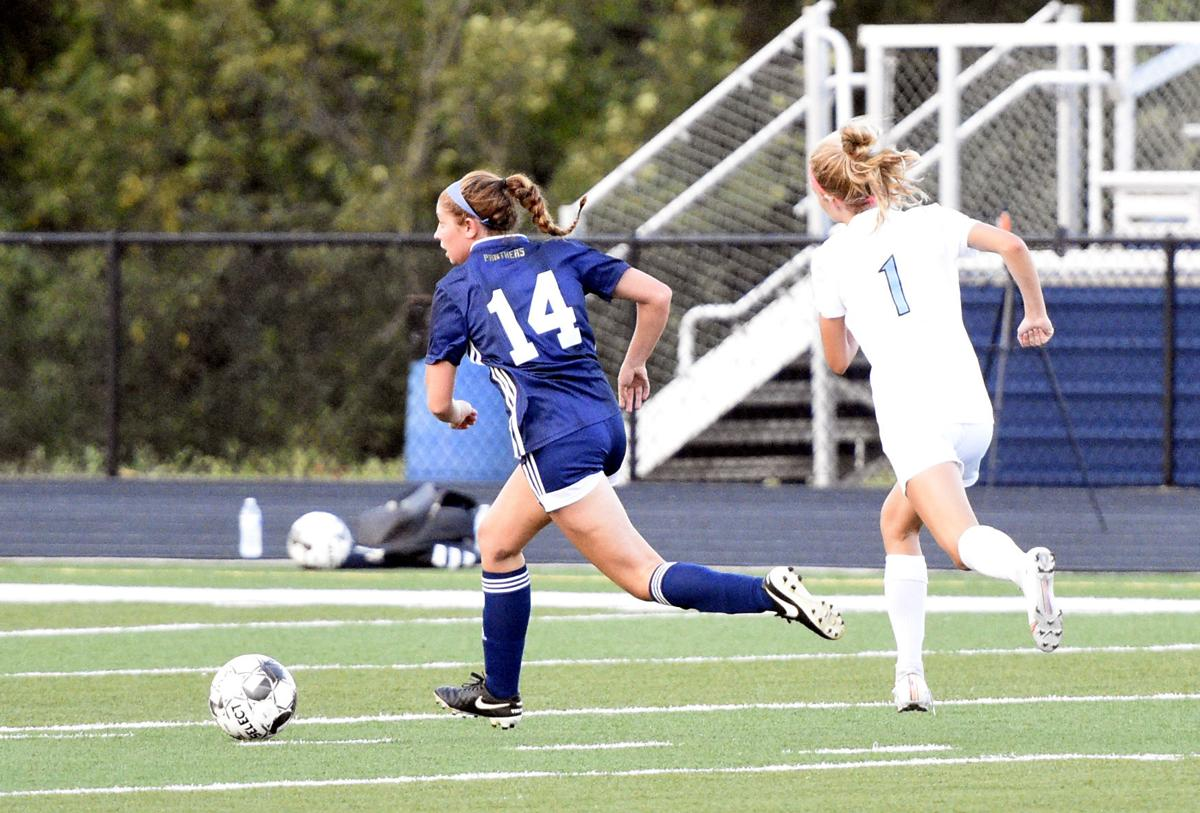 GIRLS' PREP SOCCER: Lady Panthers cure a few ills