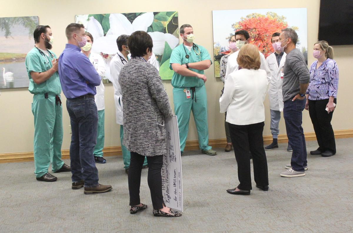 HMH hospitalists donate $18,000 to COVID emergency fund