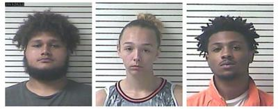 Three arrested for alleged hemp theft