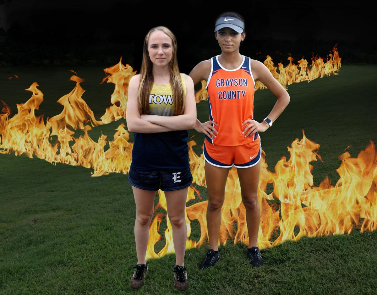 GIRLS' PREP CROSS COUNTRY: Blazing a Trail (08/20)