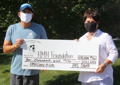 Backyard Classic donates $10k to Baptist Health HardinF