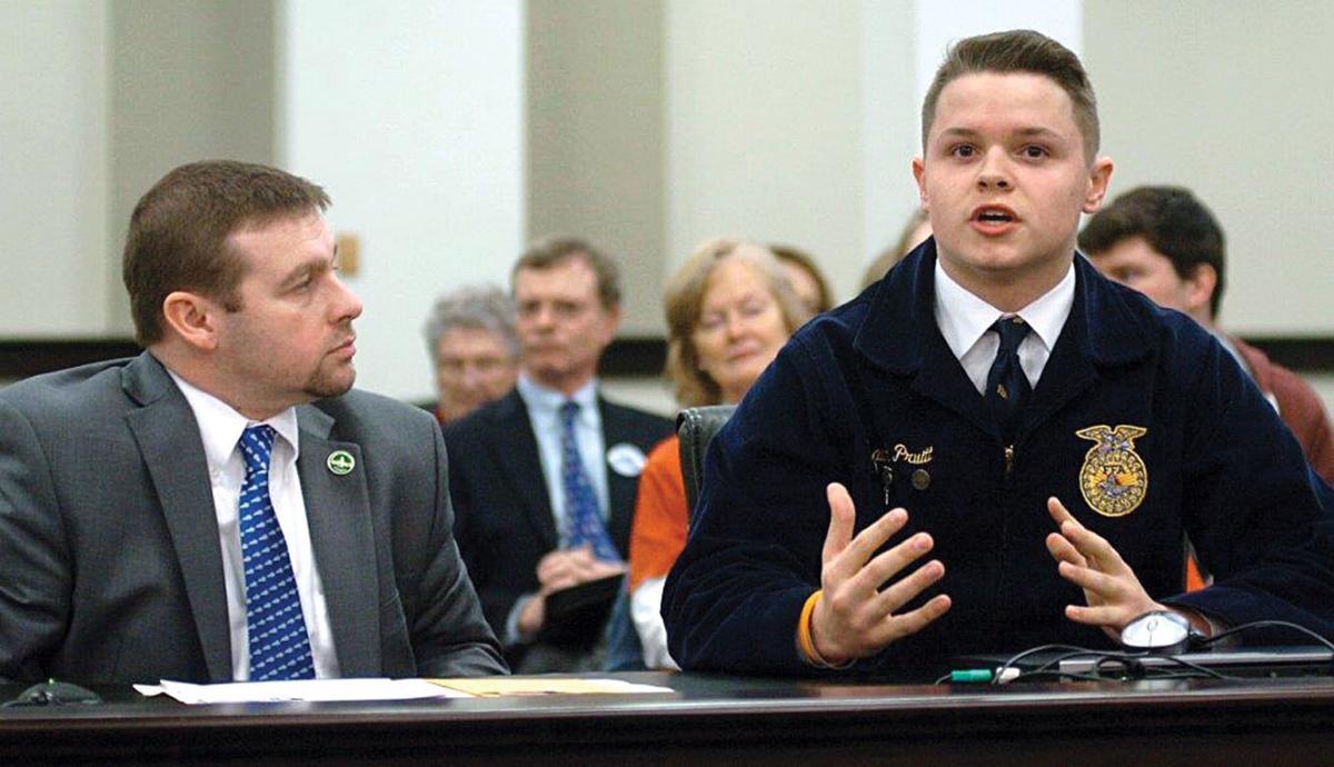 Isaiah Pruitt focuses on farm safety, politics