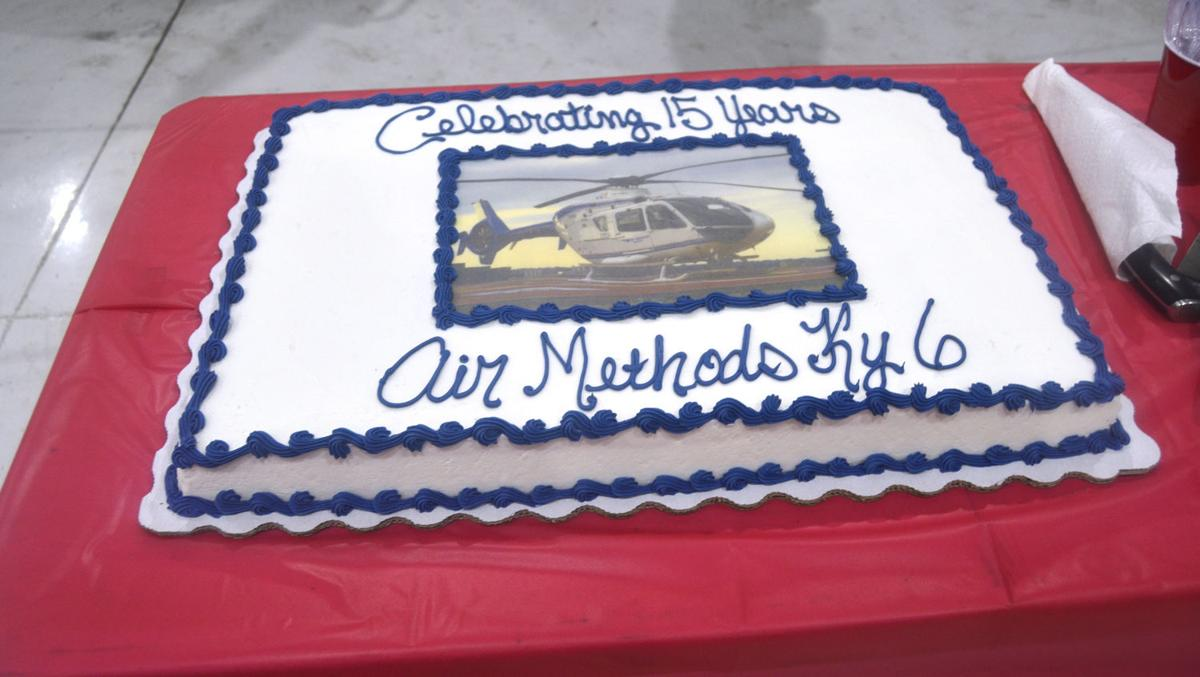 Air ambulance celebrates 15 years of local service
