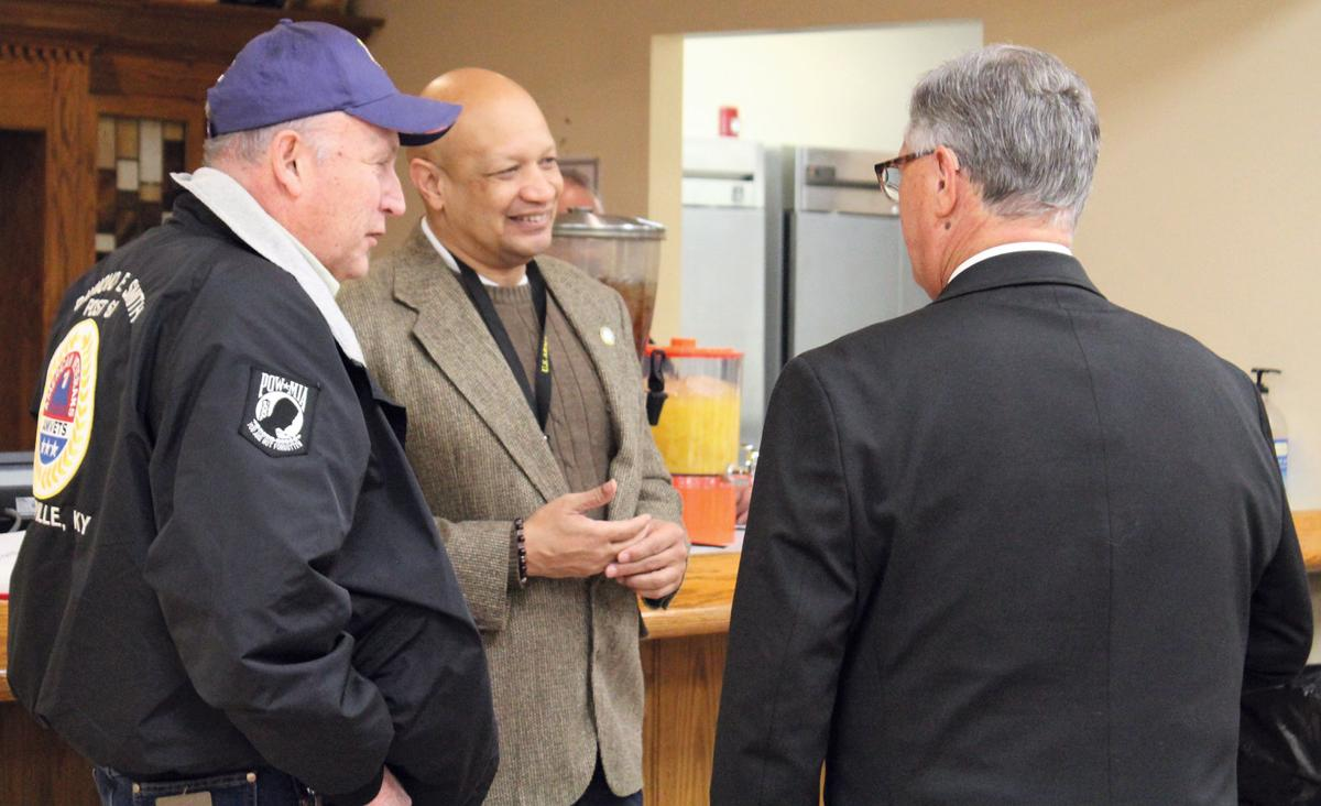Kentucky Department of Veterans Affairs Commissioner visits E'town