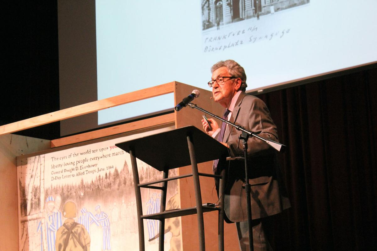 'Child of the Holocaust' shares story at State Theater