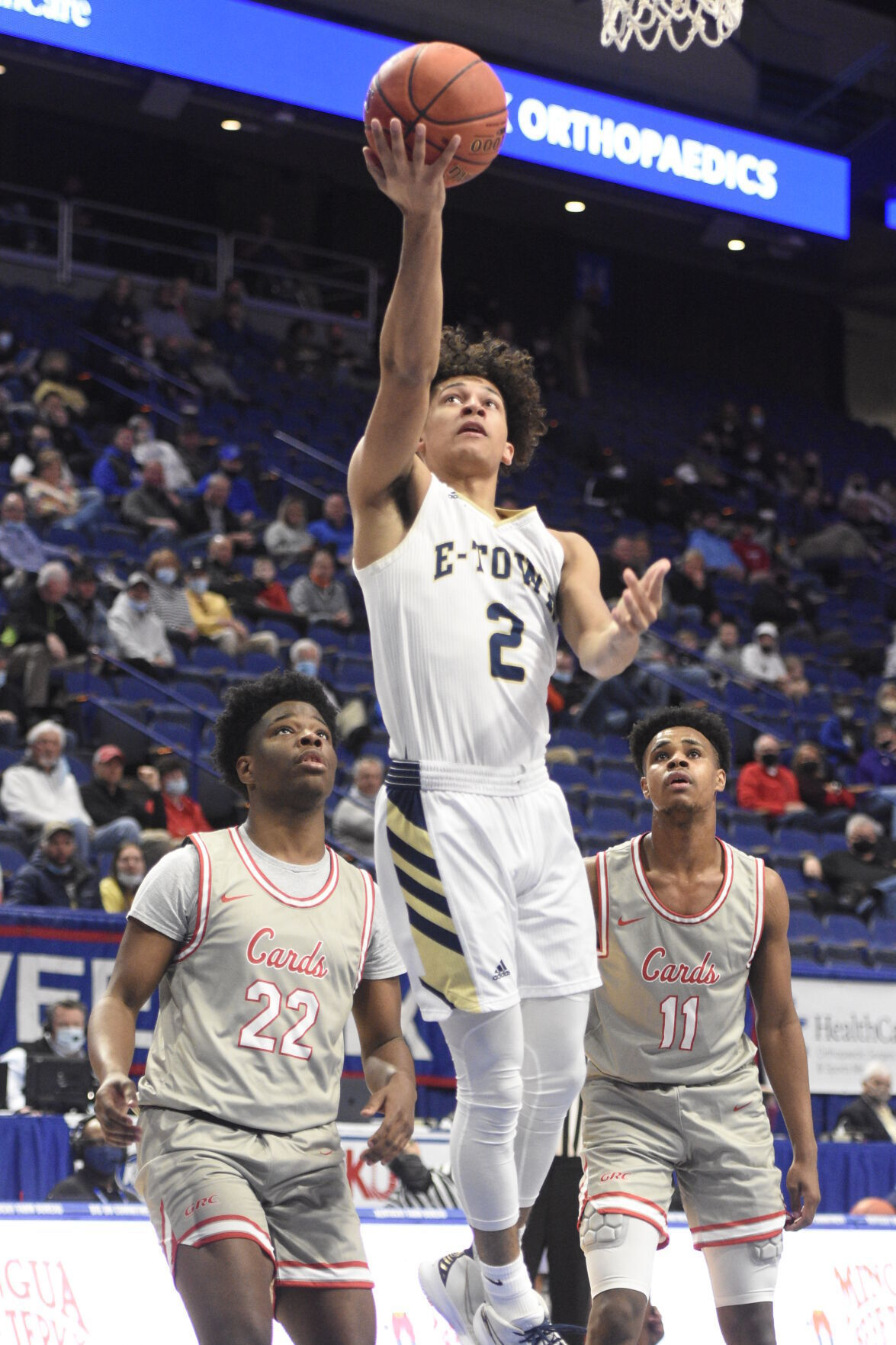 ALL-AREA BOYS' BASKETBALL: E'town's Franklin takes top honor