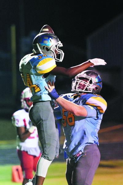 PREP FOOTBALL: Bruins hit the road