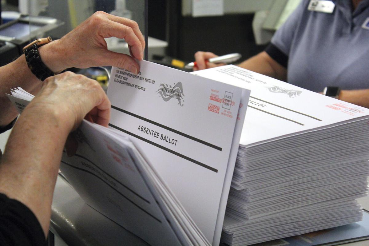 First round of absentee ballots now in the mail