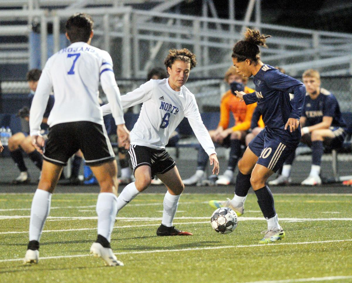 BOYS' SOCCER: E'town slips past North in OT