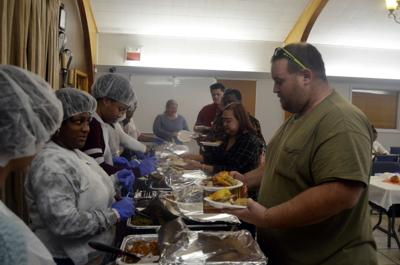 Sign of the Dove Church hosts annual Thanksgiving dinner in Radclif
