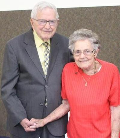 Grahams celebrate 70th wedding anniversary