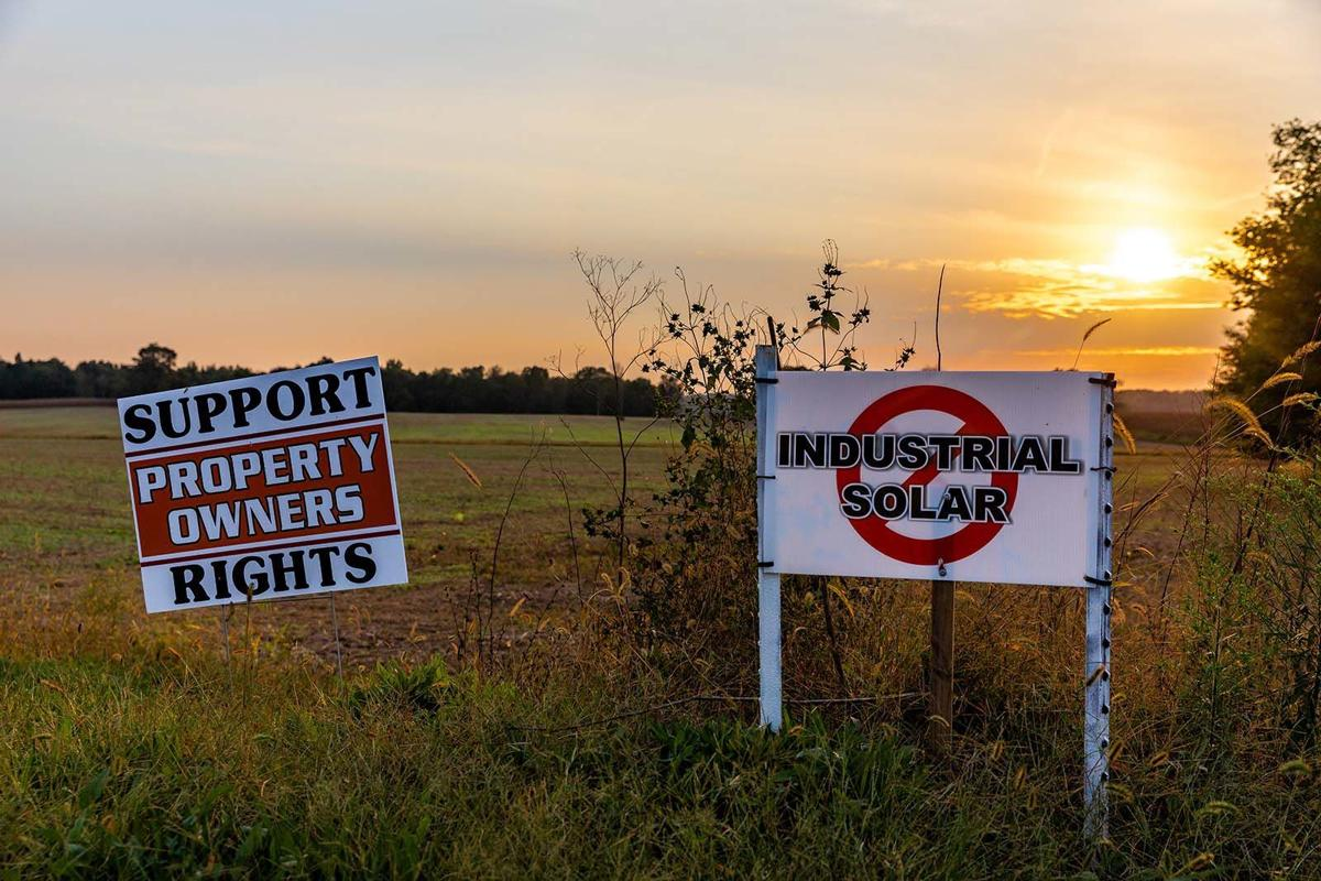 Group organized to fight industrial solar