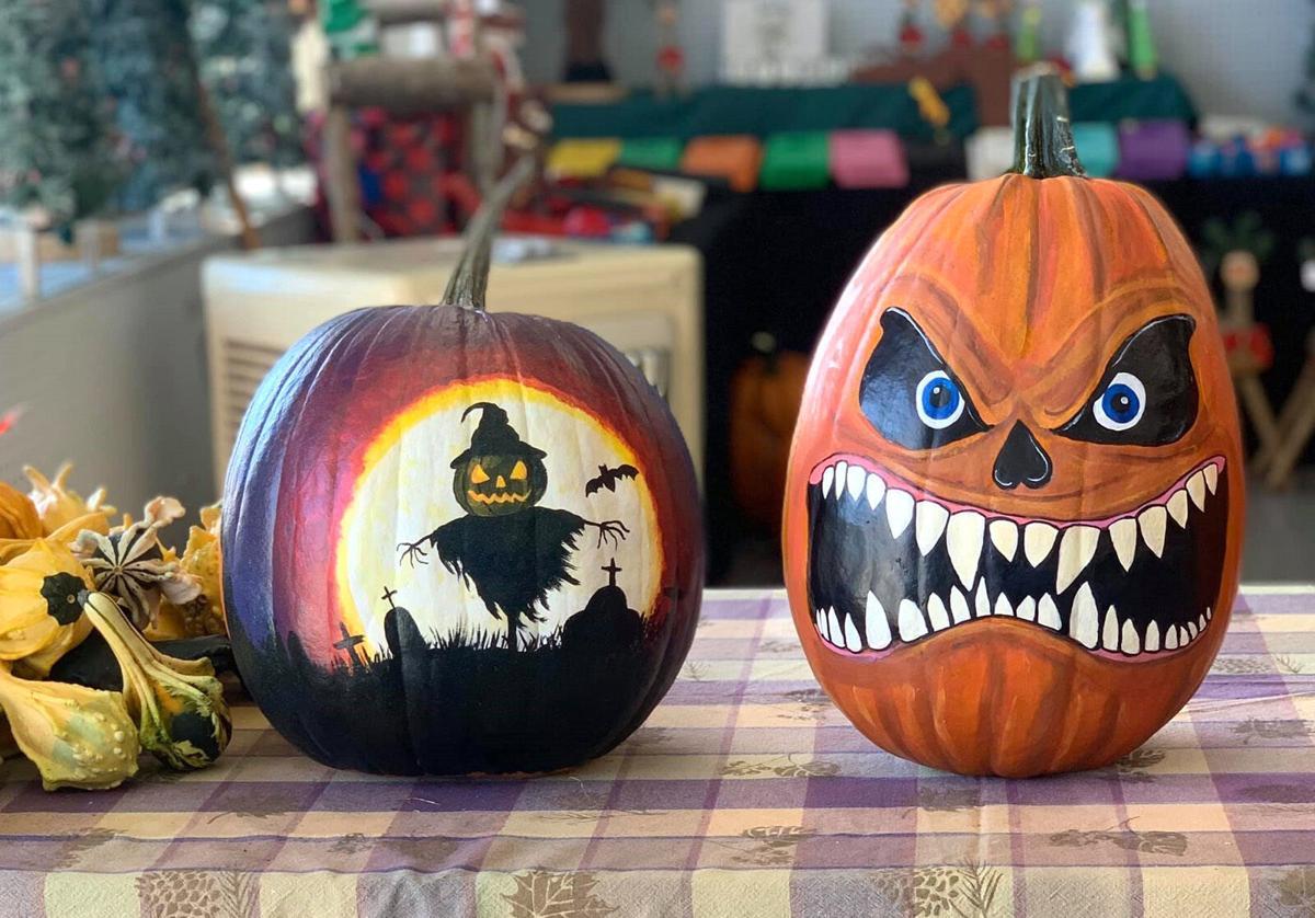 Painting pumpkins for Halloween art   Pulse   thenewsenterprise.com
