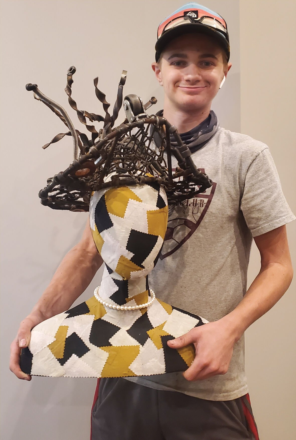 Tompkins forges his way to art