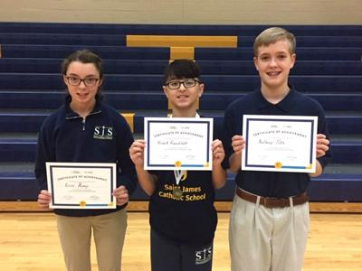 Students compete in Geography Bee