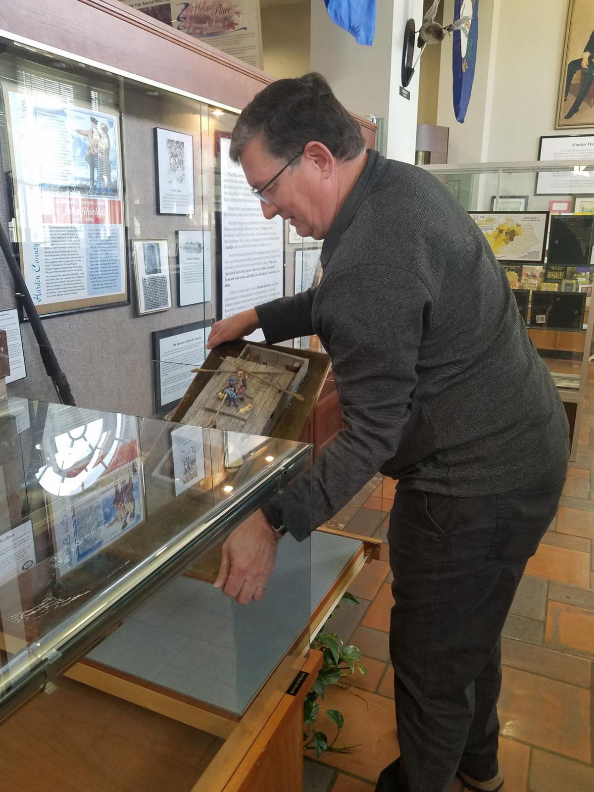 Museum volunteer lived piece of military history
