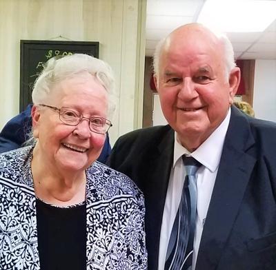 Aldridges celebrate 60th anniversary