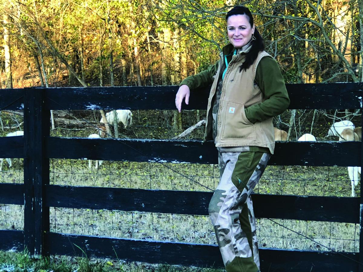 Farm life is relaxation for banking professional