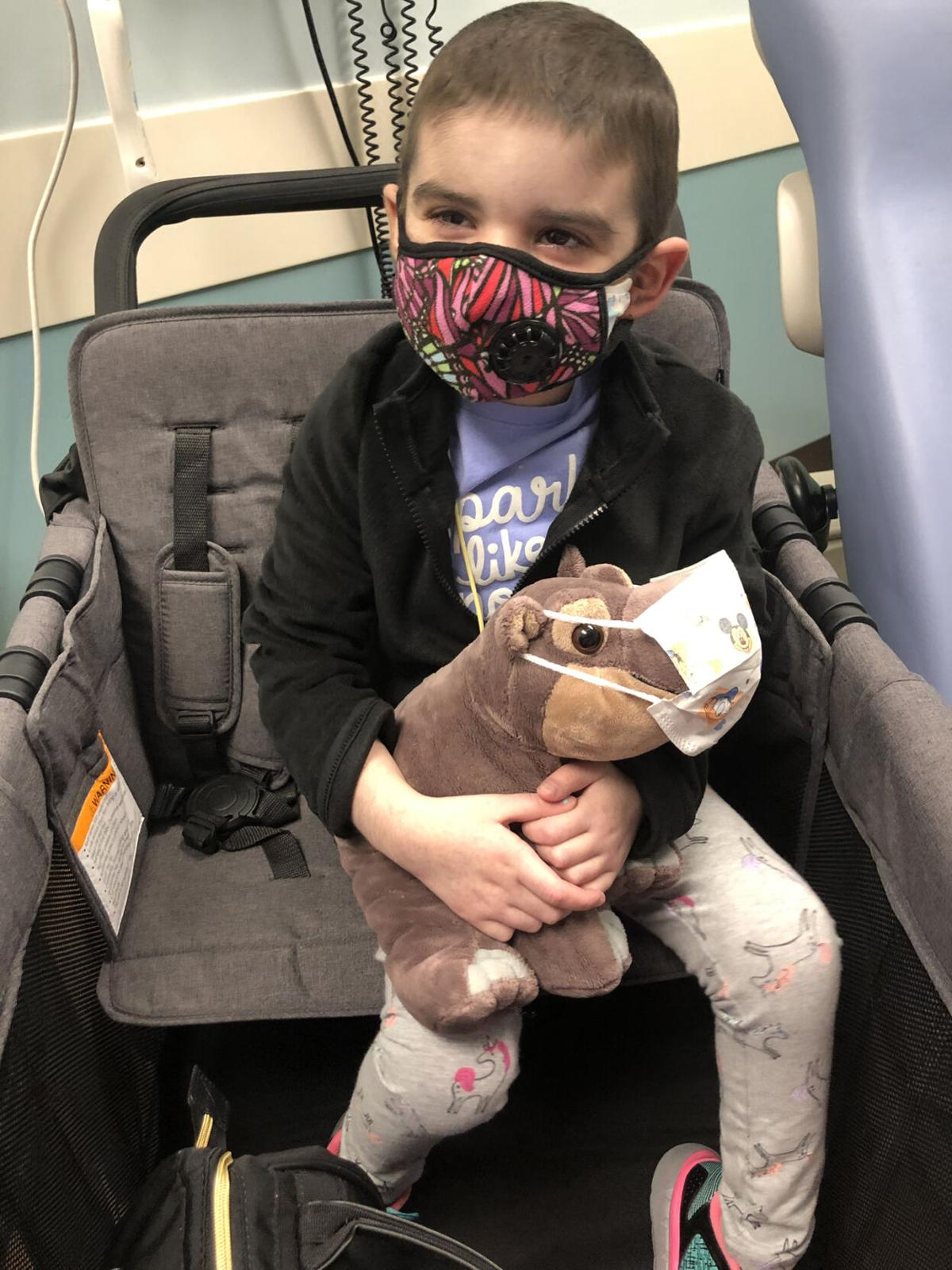 Big steps in Tenley's road to recovery