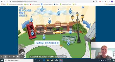 Financial literacy program moves to teaching online