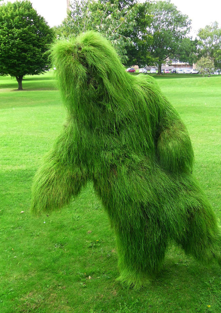 British artist's Grass Men to visit Bernheim Forest