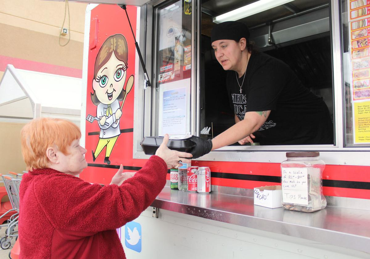 Food truck offering free meals for seniors