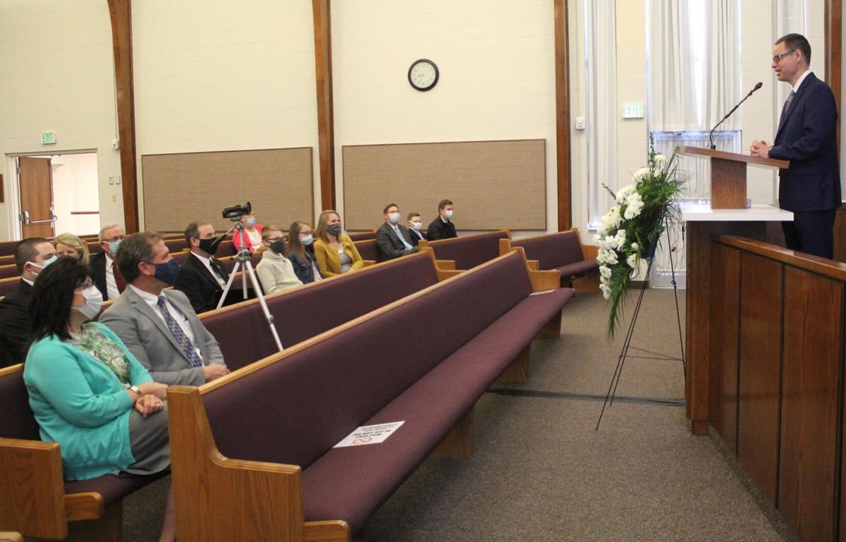 Local LDS church dedicates building
