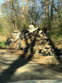 Miller Road clean up complete
