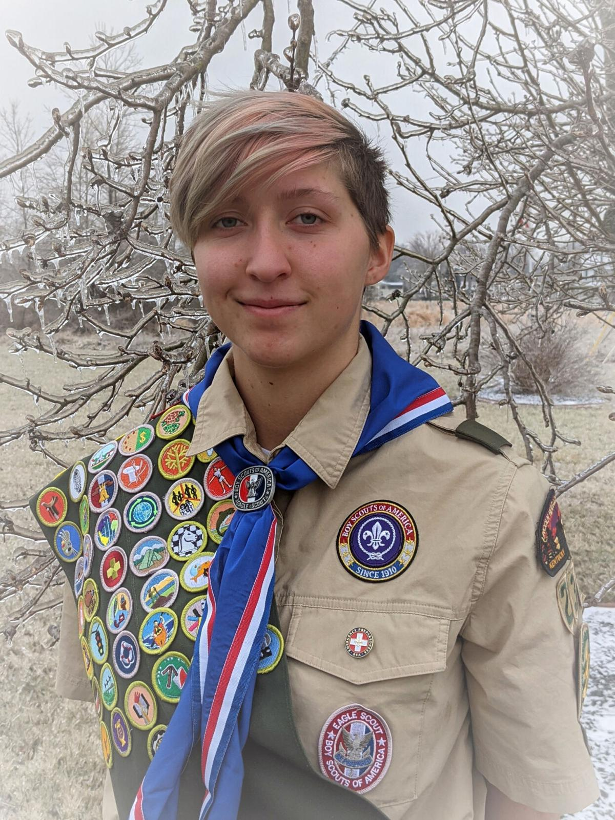 Rineyville girl earns Eagle Scout recognition