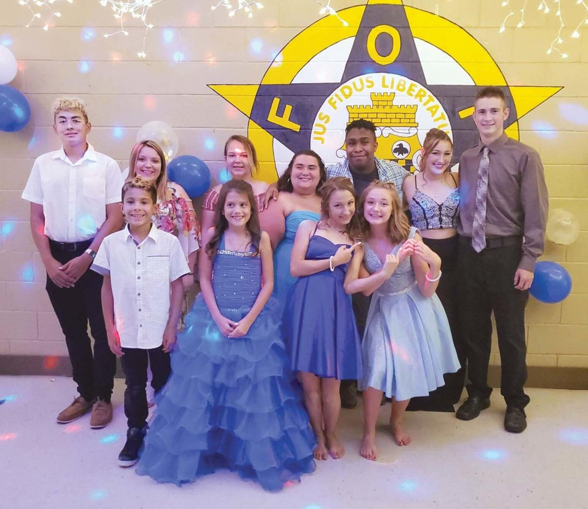 Local students enjoy prom held at Radcliff Fraternal Order of Police