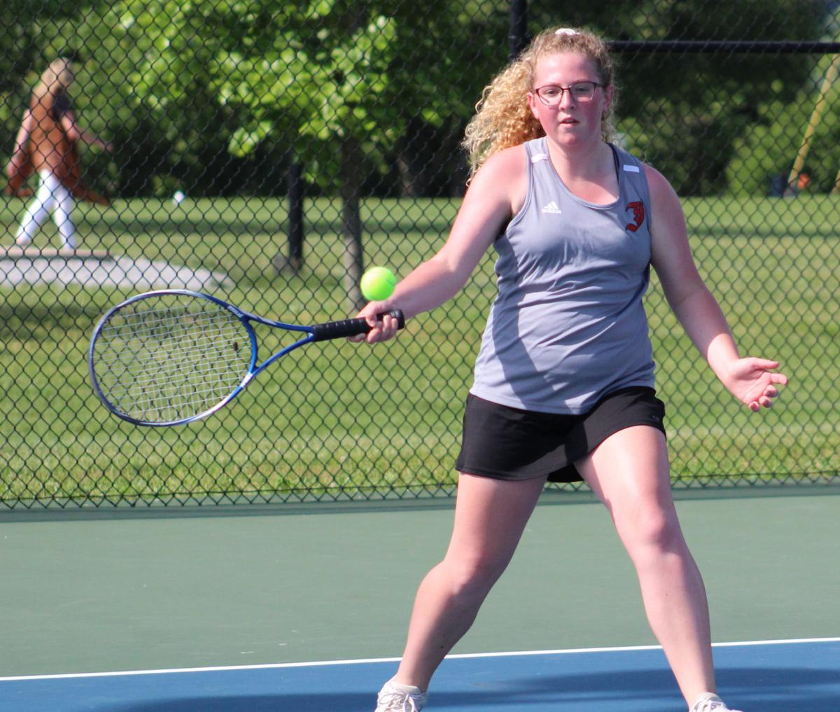 PREP TENNIS: State tournament tickets punched