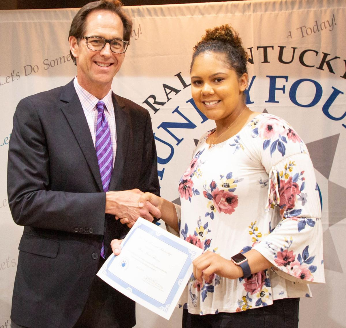 Area students receive John Dink Memorial Scholarship